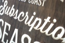 Gold-Coast-Arts-Centre-white-washed-wooden-Laser-etched-sign-detail