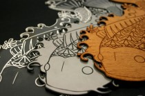 Laser-Etched-and-Cut-Acrylic,-Stainless-Steel-and-Wood