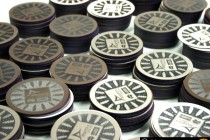 Theiss-John-Holland-Airport-Link-Steel-Laser-Cut-Coasters-Production