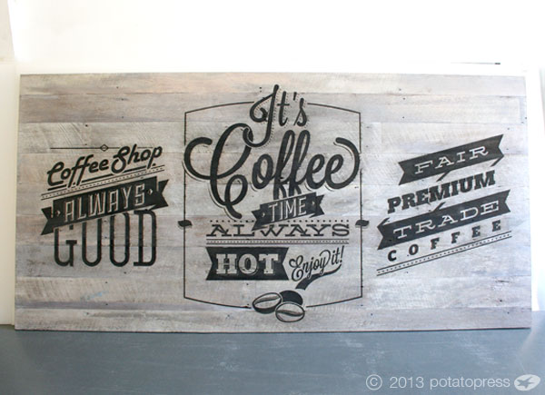 Movie-World-Villiage-Bean-Cafe-Laser-etched-recycled-timber-sign-fullsize