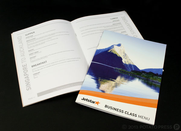 Jetstar-Business-Class-menus-Graphic-Design-Brisbane-Potato-Press