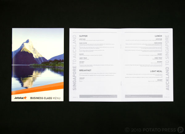 Jetstar-Business-Class-menus-Graphic-Design-Potato-Press-Gold-Coast