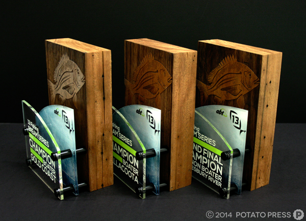 13 Fishing-3small-trophies-fishing-trophy-custom-wood-timber-acrylic-laser-laseretch-engraving-engrave