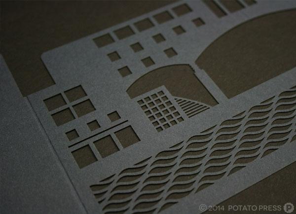 Bond-University-university-custom-invitation-invite-paper-laser-cut-lasercut-customamde